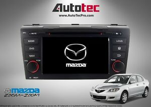 Mazda 3 OEM-Fit HD DVD NAVIGATION GPS PLAYER (2004 - 2009)