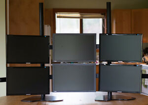 6 Monitor Array