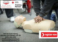 First aid, CPR Course in Hamilton