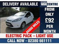 FORD FIESTA VAN 1.4 TDCI ELECTRIC PACK LIGHT USE GREAT VALUE