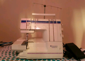 Overlocker sewing machine