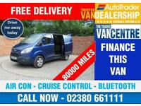 FORD TRANSIT CUSTOM 270 L1 H1 LIMITED SWB 125 BHP AIR CON CRUISE CONTROL 3 SEATS