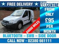 FORD TRANSIT CONNECT 1.8 TDCI T200 SWB SIDE LOADING DOOR BLUETOOTH