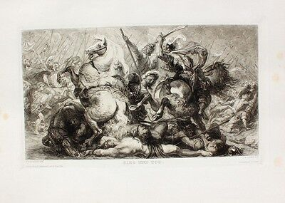 Rubens William Unger Sieg Tod Kampf Held Kaiser Decius Antike Rom Schlacht Goten
