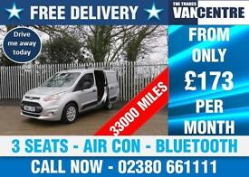 FORD TRANSIT CONNECT T200 95 TREND SWB AIR CON BLUETOOTH 3 SEATS