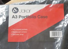 A3 art portfolio case.