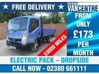 NISSAN CABSTAR 35.13 DROPSIDE SWB 130 BHP ELECTRIC PACK