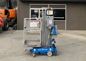2013 Genie AWP-30S Single Man Lift / Personnel Lift For Sale