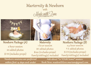 Maternity & Newborn Photography - Made with Love Photography