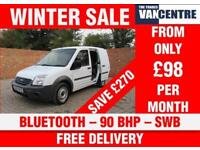 FORD TRANSIT CONNECT T200 1.8 TDCI SWB BLUETOOTH