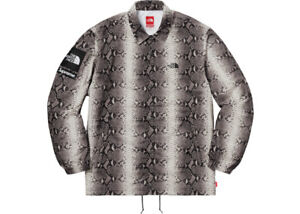 Supreme x The North Face Snakeskin Gray - Large