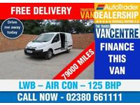CITROEN DISPATCH 2.0 HDI L2 H1 ENTERPRISE LWB 125 BHP AIR CON 3 SEATS
