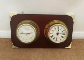 Mariner Clock And Barometer
