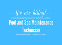 Swimming Pool and Spa Maintenance Technician