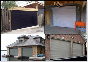 Security Roll Shutters and Roll Doors for Garages