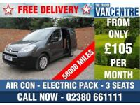 CITROEN BERLINGO 625 ENTERPRISE L1 H1 SWB AIR CON ELECTRIC PACK 3 SEATS