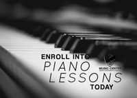 Piano Lessons at Music Centre