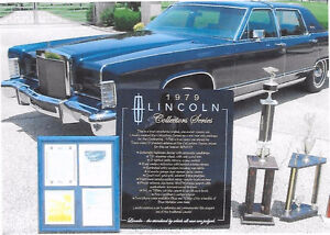 1979 Lincoln Continental Collector Edition Sedan