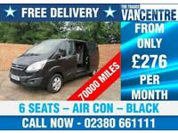 FORD TRANSIT CUSTOM 290 L2 H1 LIMITED DOUBLE CAB AIR CON 6 SEATS