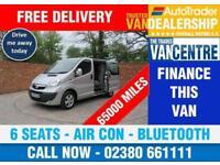 VAUXHALL VIVARO 2900 CDTI SPORTIVE DOUBLE CAB SWB 115 BHP AIR CON 6 SEATS