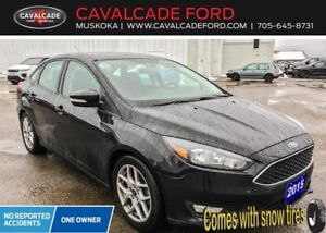 2015 Ford Focus Sedan SE COMES WITH SNOW TIRES!!!