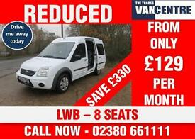 FORD TOURNEO 230 CONNECT LWB 90 BHP 8 SEATS