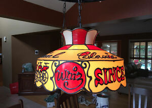 Whiz Classic Chemical Motor Oil Tiffany Plastic Hanging Lamp