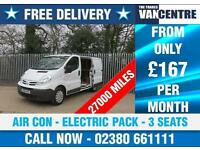 NISSAN PRIMASTER SE SWB 115 BHP AIR CON ELECTRIC PACK 3 SEATS