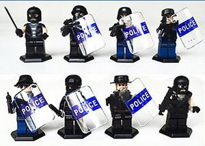 POLICE SWAT Heavy Fire Special Weapons And Tactics Lego... St. John's Newfoundland image 3