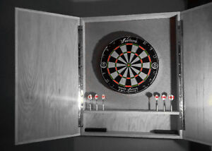 Dart Board Cabinets Cambridge Kitchener Area image 1