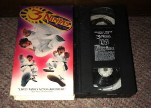 3 NINJAS KNUCKLE UP VHS Cult Martial Arts Comedy Movie 90's Kids