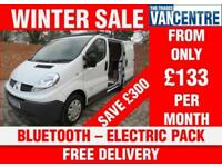 RENAULT TRAFIC SL27 DCI SWB 115 BHP BLUETOOTH ELECTRIC PACK 3 SEATS