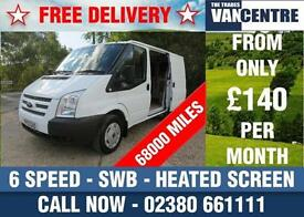 FORD TRANSIT 260 SWB 2.2 TDCI 100 BHP 6 SPEED HEATED SCREEN LIGHT USE
