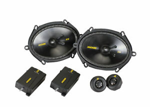 Kicker CSS684 6x8 Component Speaker System -New in box