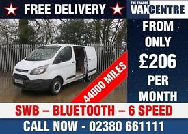 FORD TRANSIT CUSTOM 270 L1 H1 SWB 100 BHP BLUETOOTH 6 SPEED