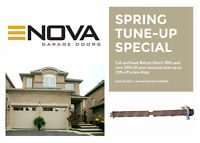 Garage Door Repair Services. Springs/Rollers/Cables + More