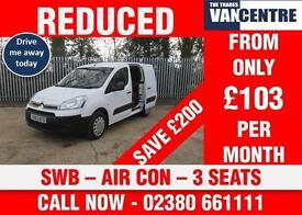 CITROEN BERLINGO 625 L1 ENTERPRISE SWB AIR CON