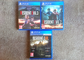 PS4 Resident Evil 2 7 Collection Playstation 4 Game Games Bundle
