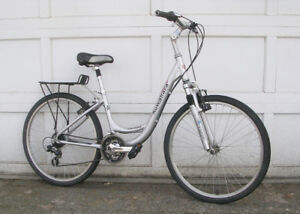"KUWAHARA,  ""SHASTA"", 21 SPEED COMMUTER, COMFORT BIKE, ""LADIES BI"