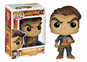 Funko Pop! Games: Borderlands - Handsome Jack # 42