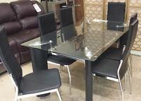Table 6 Chaises de Cuisine Neuve pour 489$ TPS incluse