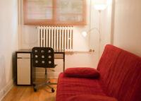 Studio meublé (UdeM, coin Decelles/Éd.-Montpetit) – 1er sept.