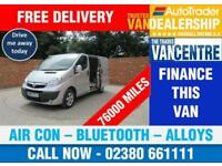 VAUXHALL VIVARO 2700 SPORTIVE SWB 115 BHP AIR CON BLUETOOTH 3 SEATS