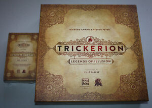 Trickerion: Legends of Illusion Board Game AND Dahlgaard's Gifts