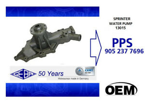 MERCEDES BENZ SPRINTER, DODGE WATER PUMP (GEBA 13015) DIESEL