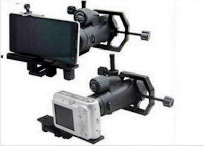 Universal Adapter Cell Phone Mount Telescope Spotting Scope Monocular Binocular