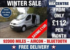 RENAULT TRAFIC SWB SL29 DCI 115 BHP AIR CON BLUETOOTH WAS £5870 SAVE £100