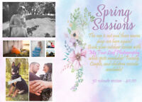 Outdoor Family Photographer - Spring Sessions- Book Now!