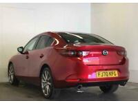 2020 Mazda 3 2.0 Skyactiv-X MHEV Sport Lux 4dr Saloon Petrol Manual