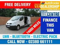 RENAULT TRAFFIC LL29 DCI LWB 115 BHP BLUETOOTH ELECTRIC PACK 3 SEATS